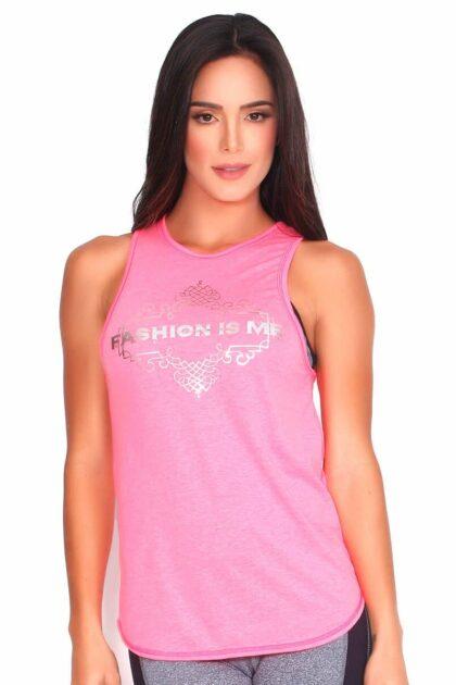Pink Yoga T-shirt