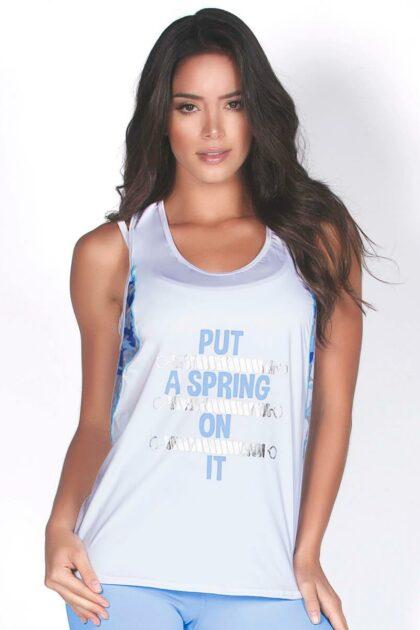 Baby Blue Pilates T-shirt