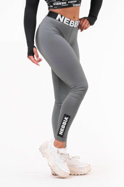 Dark Grey Scrunch Butt Leggings