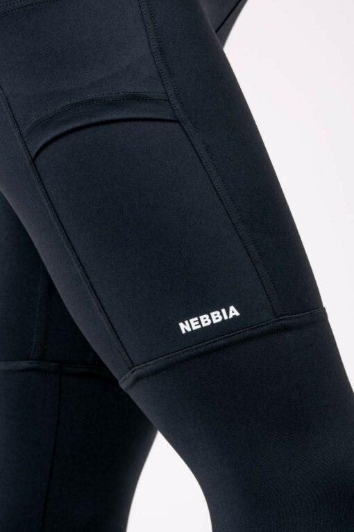 Black Nebbia Logo Leggings