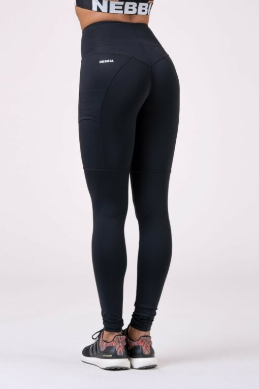 Iconic High Waist Black Leggings