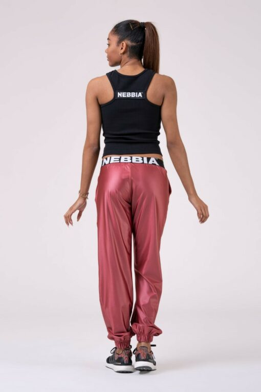 Nebbia Loose Fit Peach Pants