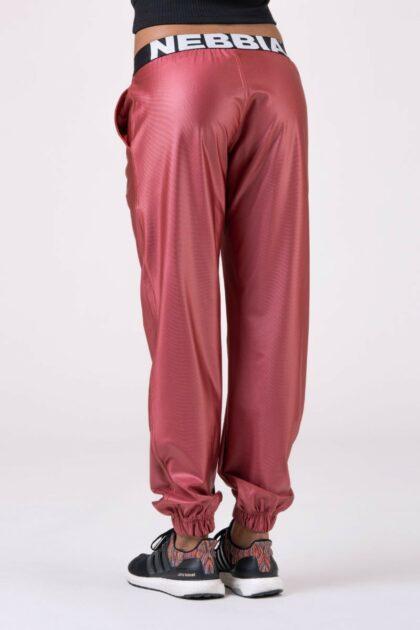 Nebbia Peach Sports Drop Crotch Pants