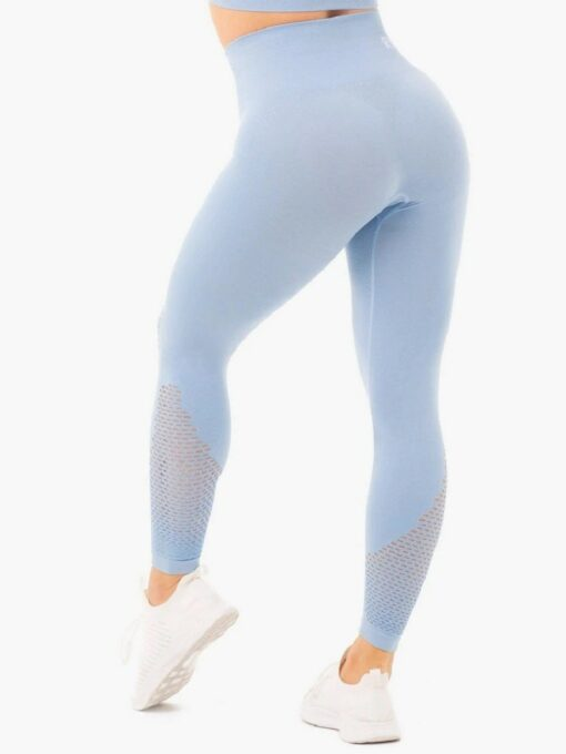 Ryderwear Blue Seamless Leggings