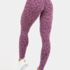 Ryderwear Purple Animal Print Leggings