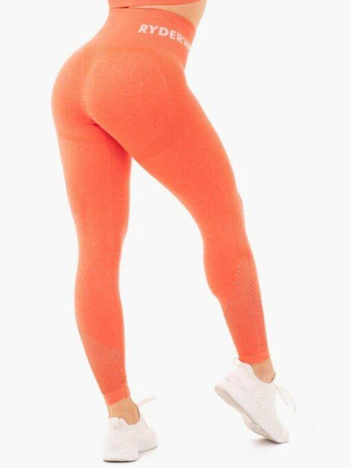Seamless High Waist Orange Leggings