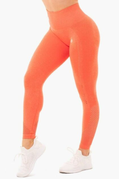 Seamless Staples Orange Leggings