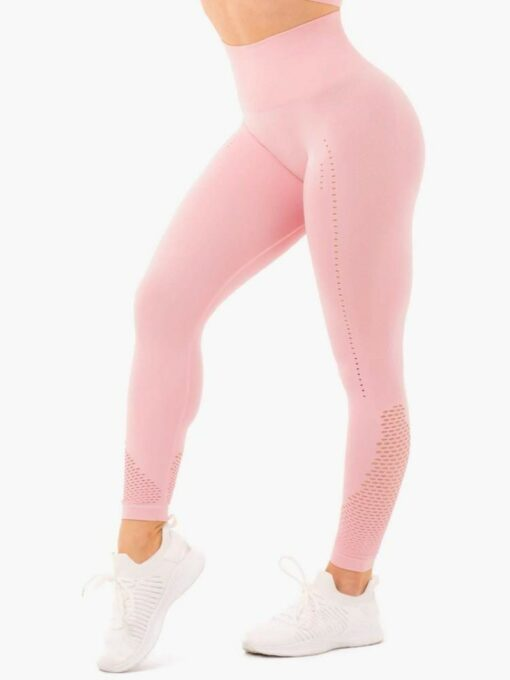 Seamless Staples Pink Leggings