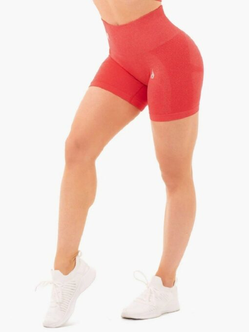 Seamless Staples Red Shorts