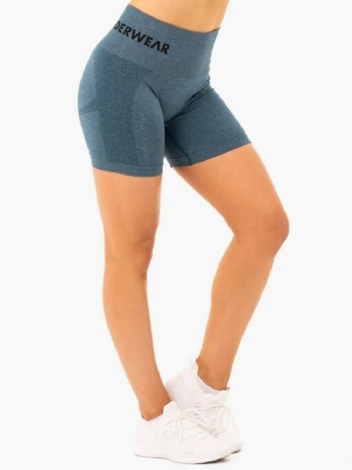 Seamless Staples Teal Shorts