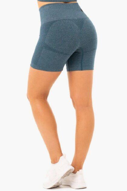 Womens Blue Shorts