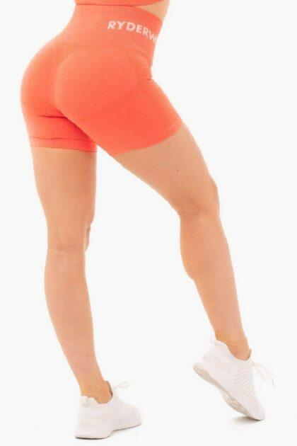 Women's Orange Shorts