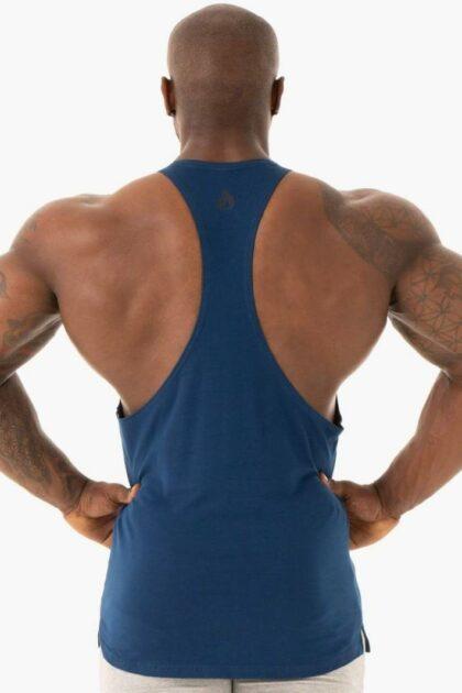 Mens Blue Gym T-back
