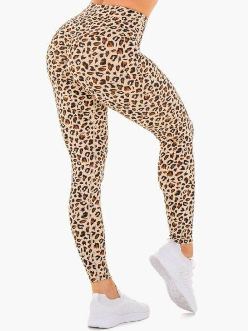 Women's Leopard Printed Leggings